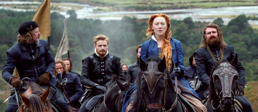 "Saoirse Ronan shines, and everyone else's talent is wasted, in ""Mary, Queen of Scots."""