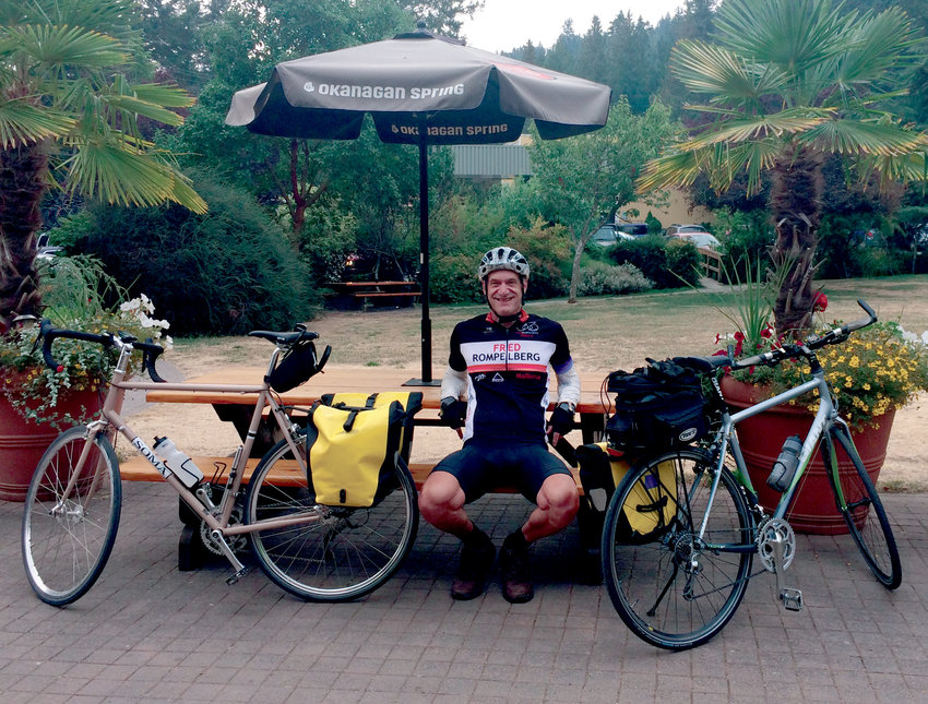 Port Townsend ReCyclery executive director Jim Mantell has cycled for more than 50 years.
