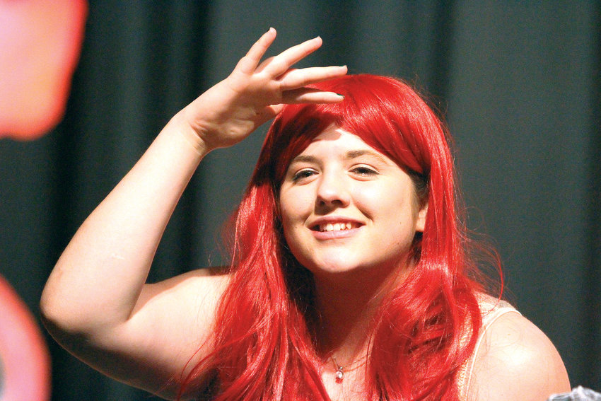 "Brooklyn Palmer, 18, a Chimacum High School senior who is cast in the lead role of Ariel in their production of ""A Little Mermaid,"" believes her role will help her grow as a performer."