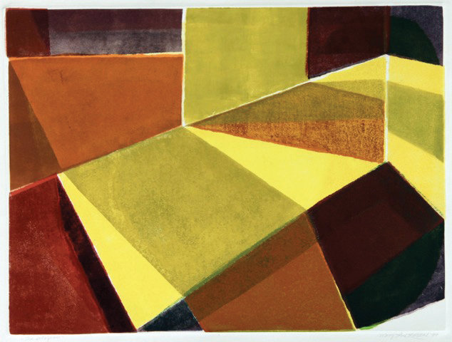 This untitled painting by the late Mary Lou Kostal will be on display during Art Walk at Northwind Arts Center.