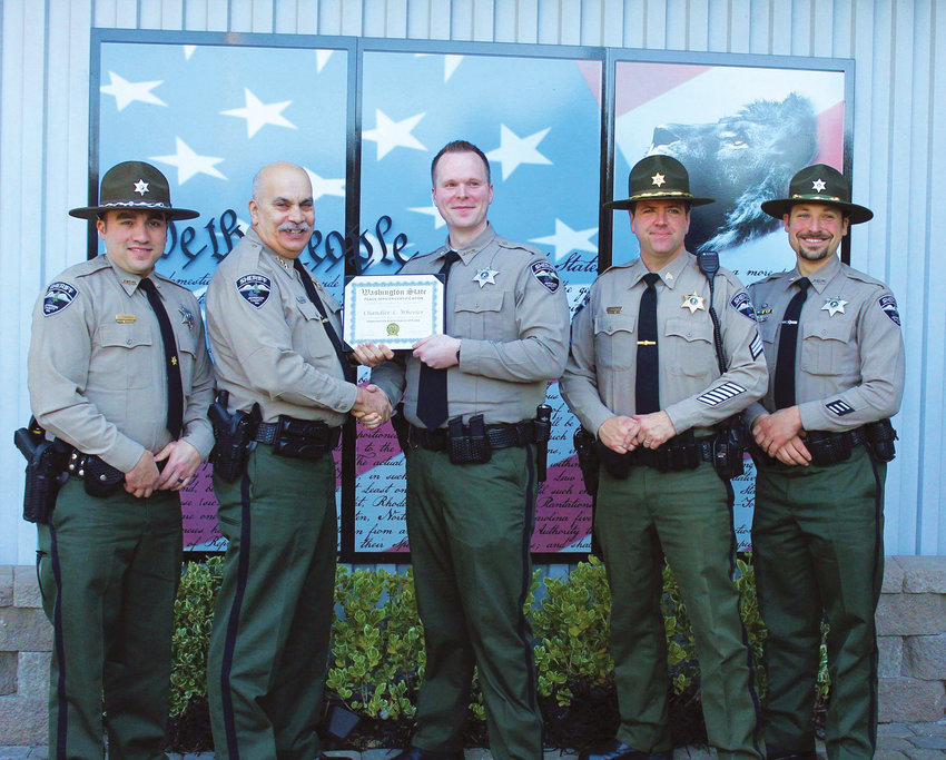 Sheriff Joe Nole announced the graduation of the Jefferson County Sheriff's Office newest deputy, Chandler Wheeler, on Jan. 29. Deputy Wheeler is a 2009 graduate of the Port Angeles High School. He began his law enforcement career at JCSO in 2017, serving as a corrections officer.