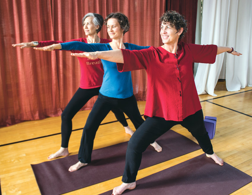 From left are Renee Klein, from left, Anneli Molin-Skelton and Aletia Alvarez as of Jan. 1 are co-owners of Madrona MindBody Institute. The three each bring unique talents to the table and work together to create a sense of community.