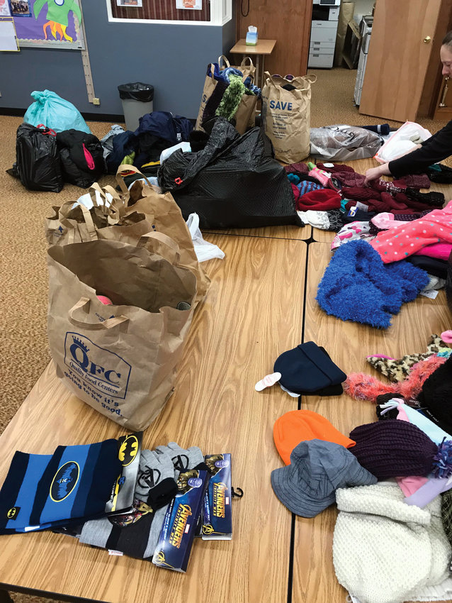 Winter clothes are coming in for all four school districts in the county.