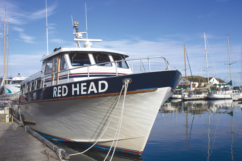 The Red Head currently is undergoing minor repairs in Port Townsend in preparation for the busy tourist season that kicks off in the spring.