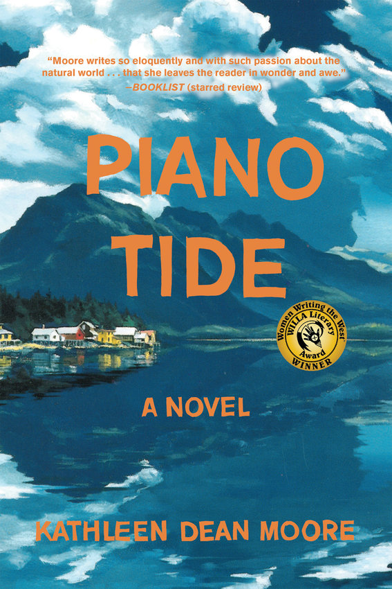"""This year's Community Read is """"Piano Tide"""" by Kathleen Dean Moore."""