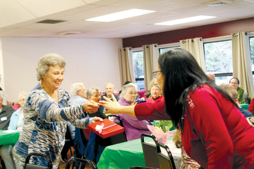 OlyCAP honored its RSVP volunteers with a lunch and raffle March 14 at the Tri-Area Community Center.