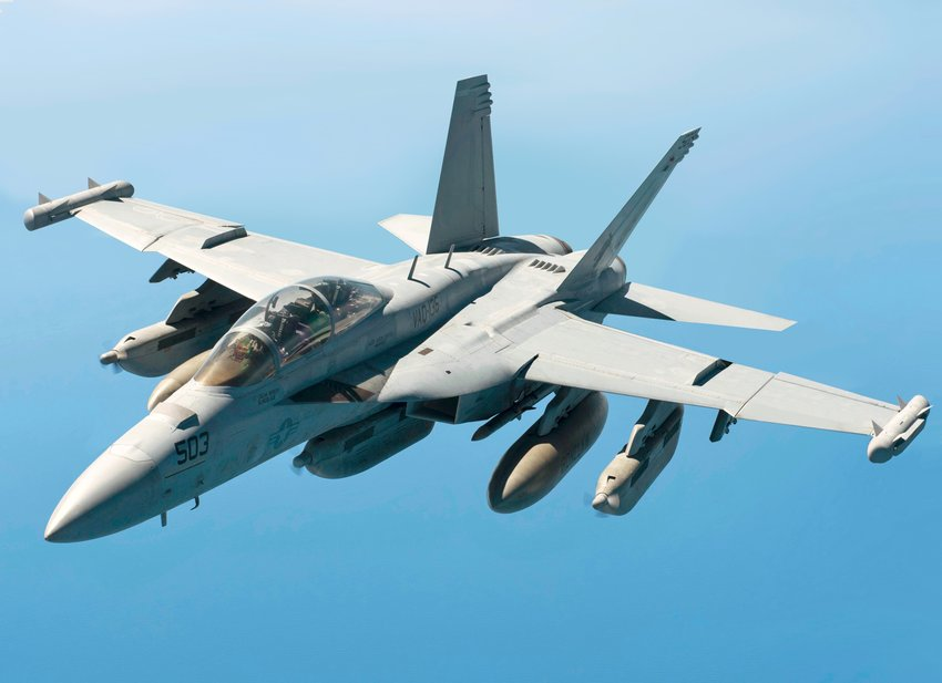 """The U.S. Navy has decided to add 36 EA-18G """"Growler"""" jets to Naval Air Station Whidbey Island, and to quadruple the number of flight operations at Outlying Field Coupeville."""