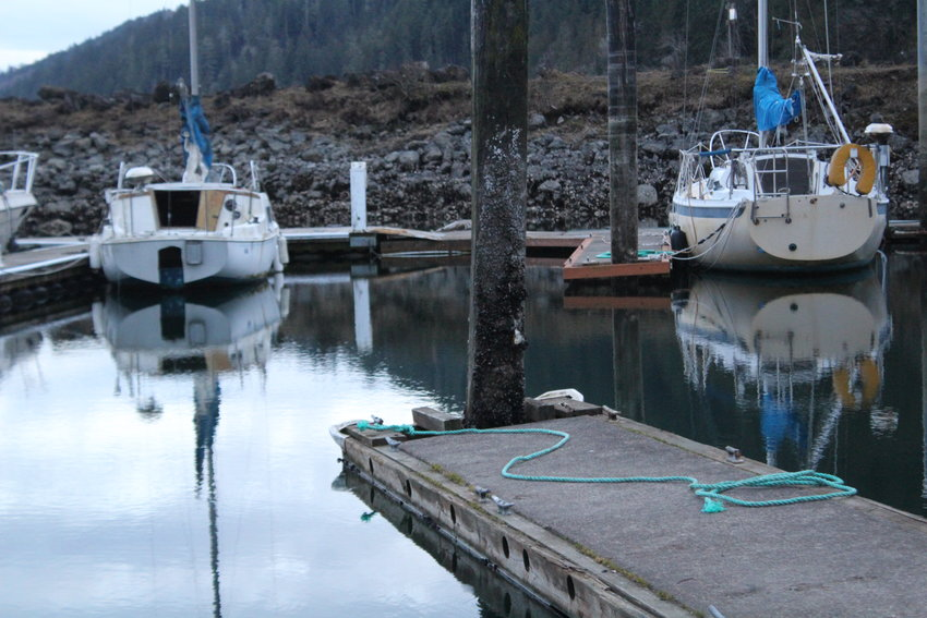 The port has plans to update floats and docks at the Herb Beck Marina in Quilcene, but is in search of funding.