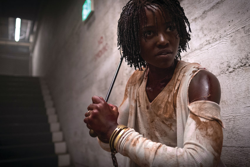"Lupita Nyong'o plays Adelaide Wilson, an otherwise average American mom in ""Us."""