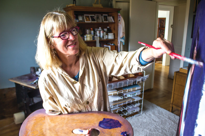 Nancy Lucas Williams, founder of The Master's Atelier, hopes to share her skills with her pupils.