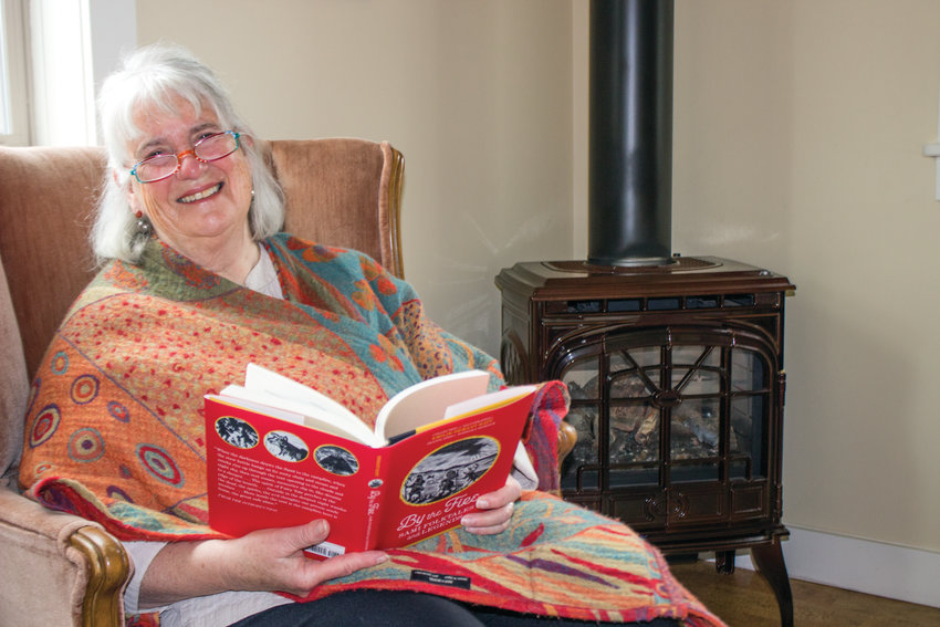 """Barbara Sjoholm will read excerpts from """"By the Fire"""" during a meeting of the Daughters of Norway April 14 at the Fred Lewis Scout Cabin."""