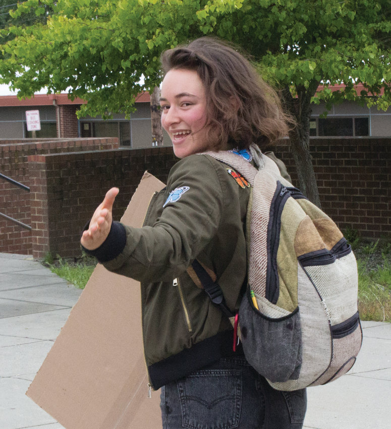 Hannah Bahls, 17, graduated from PTHS June 8. In August she's headed to UC Berkeley where she is excited about the vast array of new opportunities.