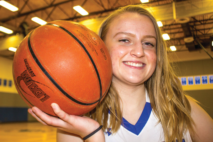 Delana Horner loves basketball, poetry and sharks. She's headed to Hawaii for college and hopes to study Great White Shark migration.