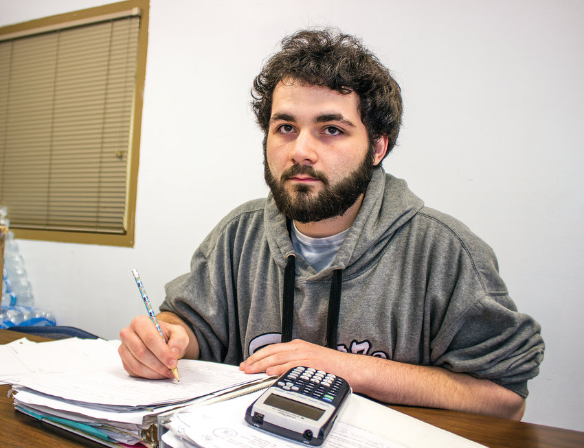 Braden Coleman, Chimacum High 2019 graduate, plans to become a teacher, sharing his love of math with students to help them get behind the scenes of physics and chemistry, where math helps explain what's happening.