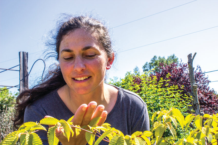 Bridget Bell, of Port Townsend, owner of Gardenkeeping, has developed a keen sense for the needs of plants, which she says can communicate.