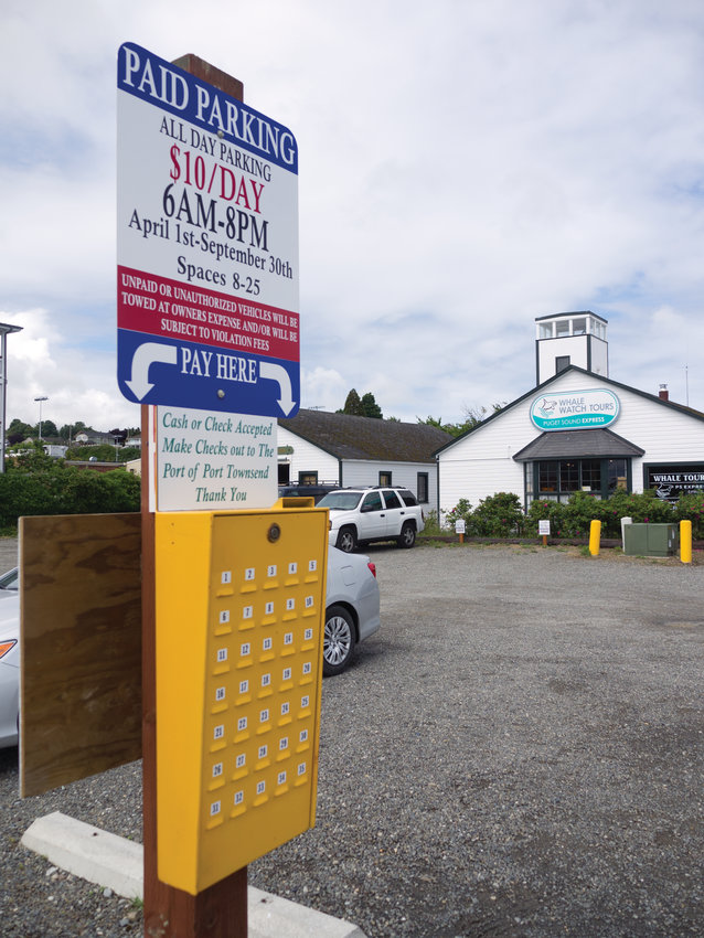 The Port of Port Townsend owns downtown's only pay-to-park lot.