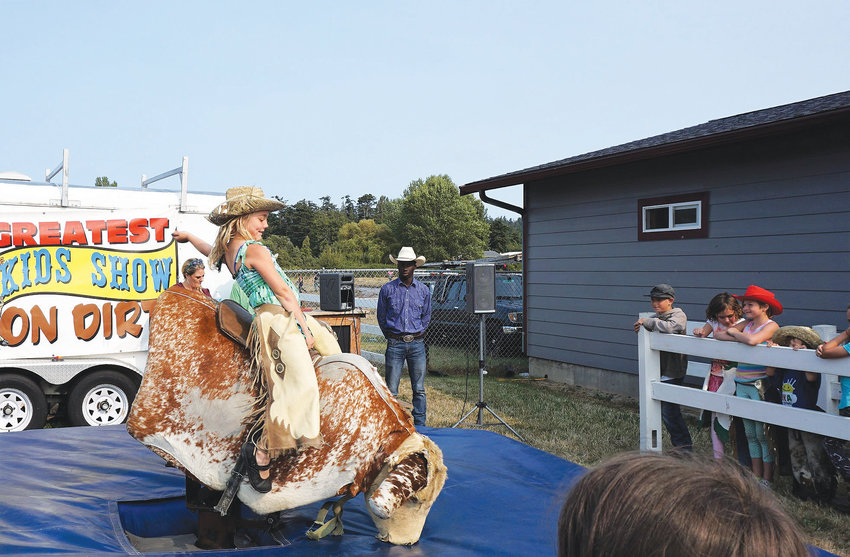 The Jefferson County Fair takes place this weekend, Aug. 9-11 at the fairgrounds in Port Townsend.