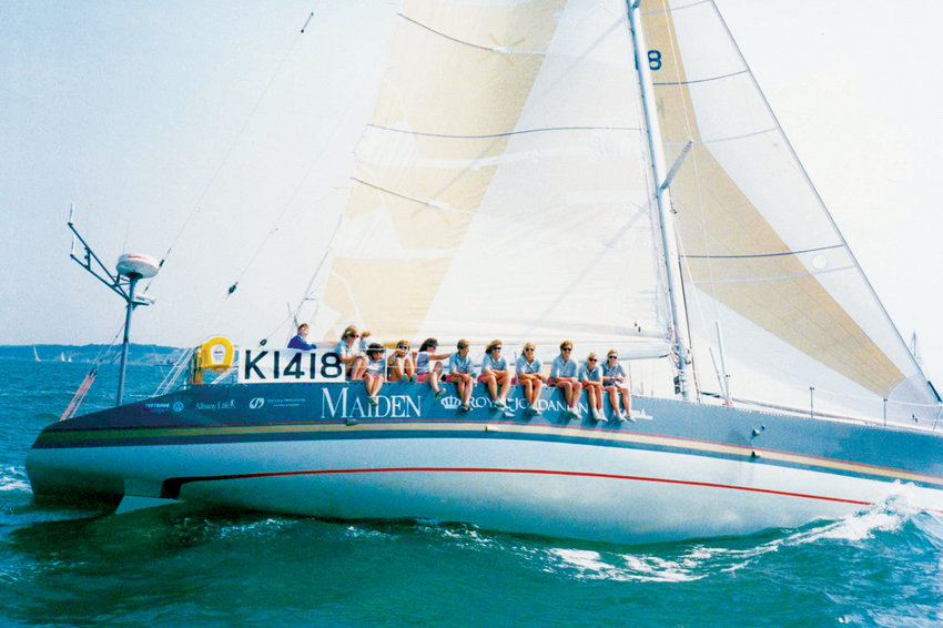 The legendary yacht, Maiden, crewed by a stellar team of female sailors, including a captain who was the first woman to win a round-the-world sailing race, has added Port Townsend to its list of stops along its circumnavigation of the world.