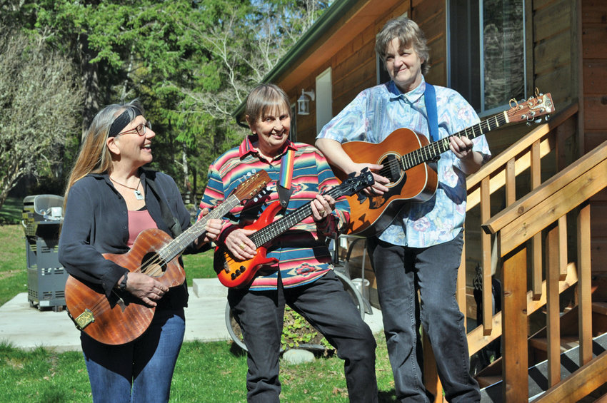 Rhythm Ride will perform Aug. 25 in Port Hadlock to fundraise for the Quilcene Food Bank, which is collecting donations to purchase a new building.