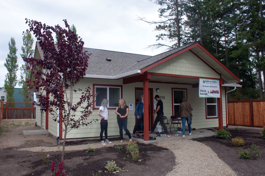 The 12th and final house in the Birkenfeld Community on Nora Porter Loop was officially completed Aug. 24.
