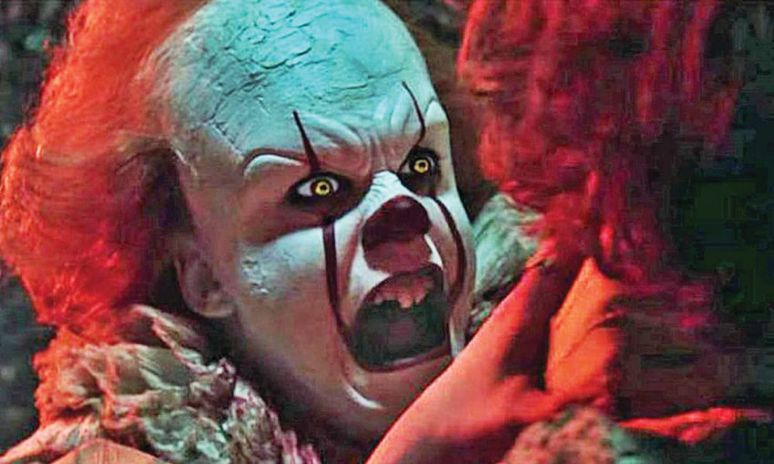"""Pennywise returns to haunt the screen in """"It: Chapter Two."""""""