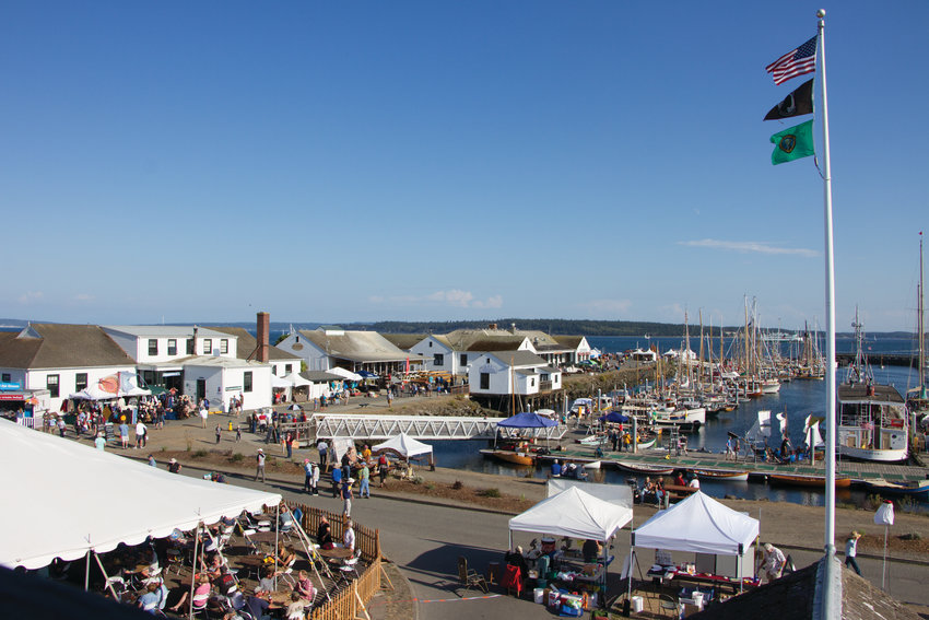 Point Hudson Marina during the 43rd Wooden Boat Festival Friday, Sept. 6