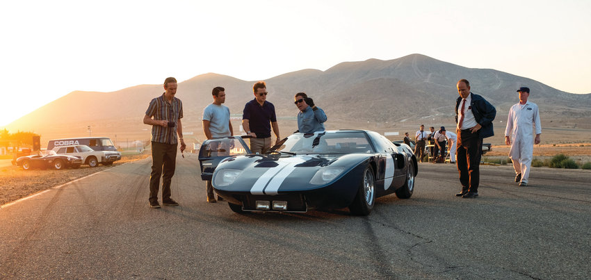 "See the team that Ford hired to beat Ferrari at Le Mans in ""Ford v Ferrari."""