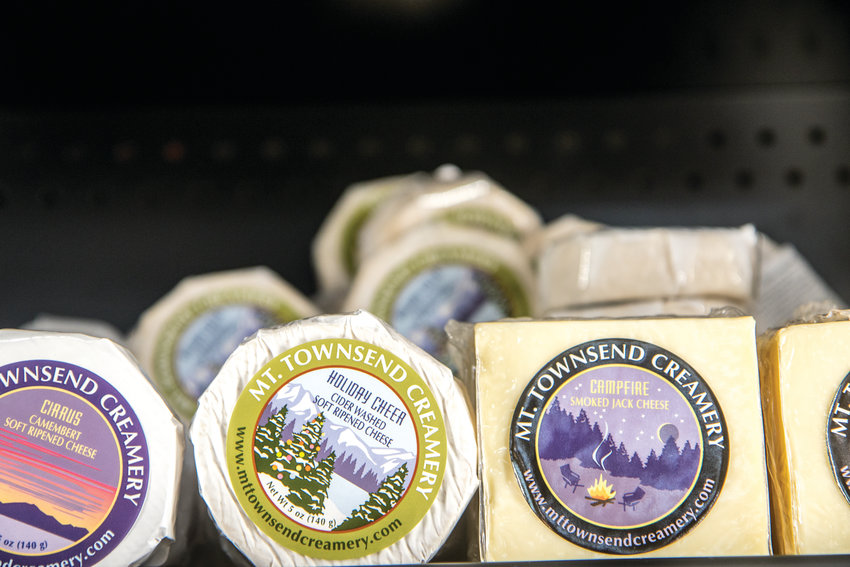 Do your holiday shopping in the cheese aisle, where locally made cheeses line the shelves, making perfect gift ideas.