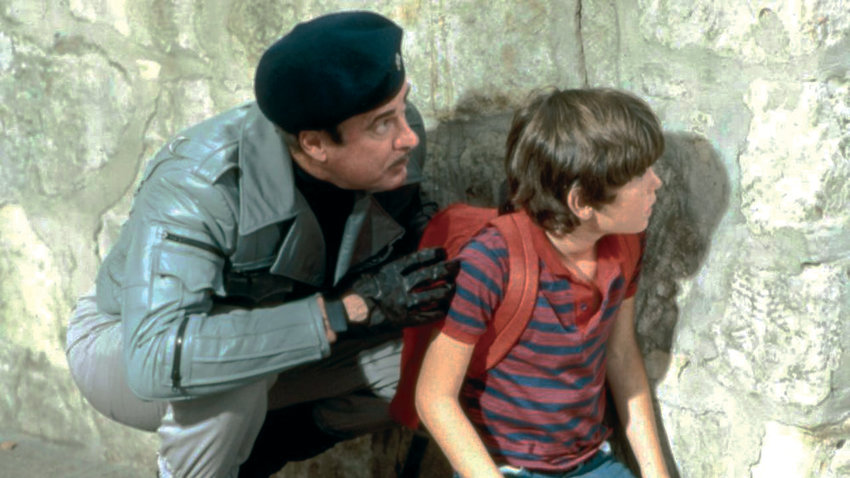 "Dabney Coleman and Henry Thomas' spy games turn all too real in 1984's ""Cloak & Dagger."""
