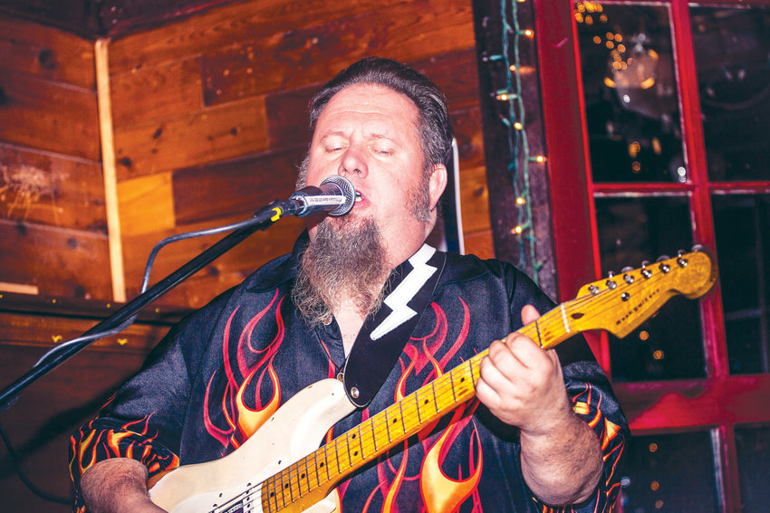 Port Hadlock bluesman C.D. Woodbury will perform at the Old Alcohol Plan on Feb. 21, after returning home from the International Blues Challenge in Memphis, Tennessee.