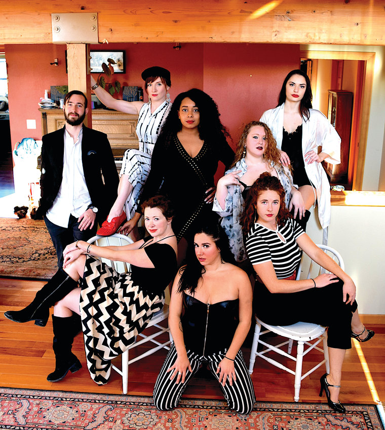 "This Valentine's Day, on Friday, Feb. 14, will see the full company of Sky House Productions performing during the ""Date Night"" at Finnriver Farm and Cidery."