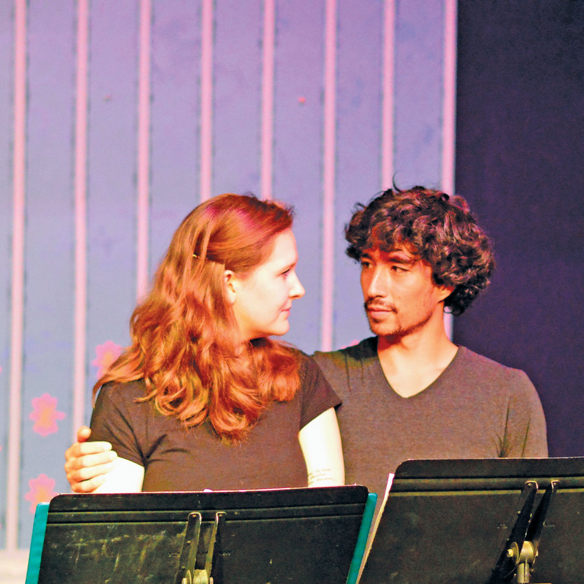 """Maggie Jo Bulkley and Tomoki Sage play young lovers in """"Timeless,"""" a one-act play by Wynne Stevens of Port Ludlow. """"Timeless"""" is among the winners of this year's One-Act Play Competition sponsored by the Port Townsend Arts Commission, and is one of the plays in PlayFest 24's second and final weekend. It will be given staged readings on Friday, March 13, at 2:30 p.m. and Sunday, March 15, at 2 p.m. in the Key City Public Theatre at 419 Washington St. Full festival passes to PlayFest are still available for $35, with 13 events open to pass holders this coming weekend. Single tickets range from $10 to $20. For more information, call 360-385-5278, visit keycitypublictheatre.org or stop by the Key City Public Theatre."""