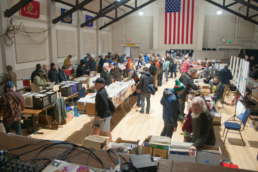 Organizers of the fifth annual Port Townsend Record Show on Saturday, March 7, estimate it easily equaled, if not exceeded, last year's attendance.