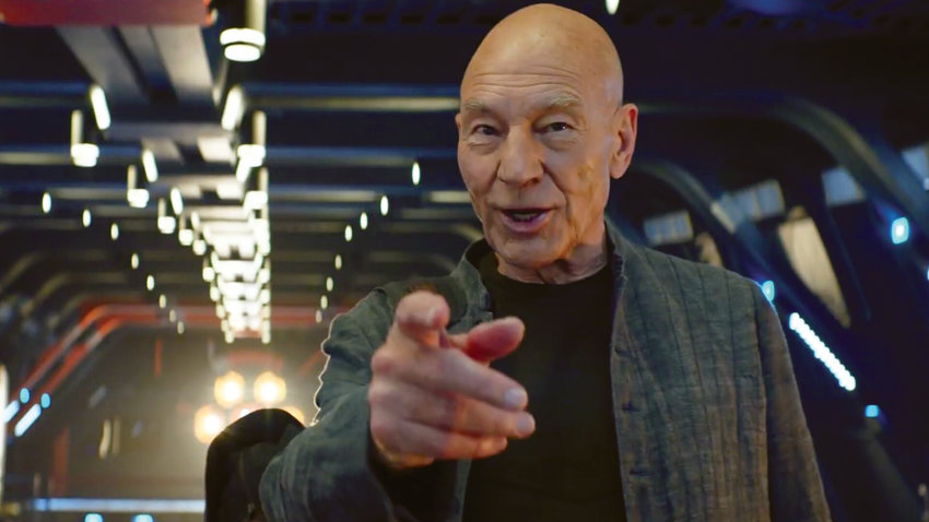 "Patrick Stewart can still ""engage"" an audience's attention in ""Star Trek: Picard"" on CBS All Access."