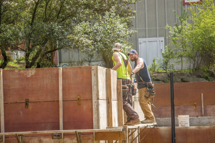 """While most residential construction in Washington was put on hold by the governor's """"Stay Home, Stay Healthy,"""" order, certain essential jobs were allowed to continue. Now that construction can resume, contractors must follow stringent safety guidelines to keep their workers healthy and their job sites open."""