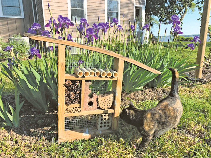 Building an insect hotel for your garden joins function and whimsy in your landscape.