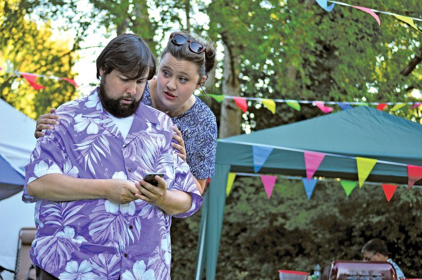 """Key City Public Theatre hopes to continue its Shakespeare in the Park series, which last year saw Brendan Chambers and Genevieve Barlow starring in """"The Merry Wives of Windsor."""""""