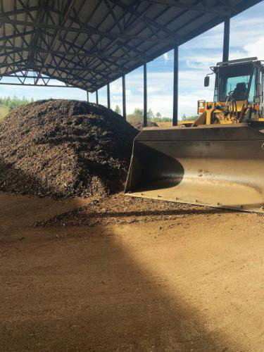 The current composting facility at the Jefferson County Transfer station is operated by the City of Port Townsend and takes only yard waste. Courtesy photo