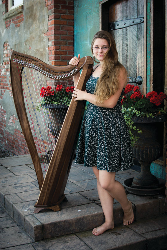 Isabelle Harvey is going to study engineering at Western Washington University. But she is also going to study music, as she hopes to continue playing the harp.