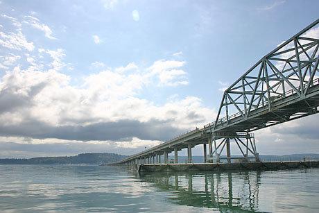 The Hood Canal Bridge