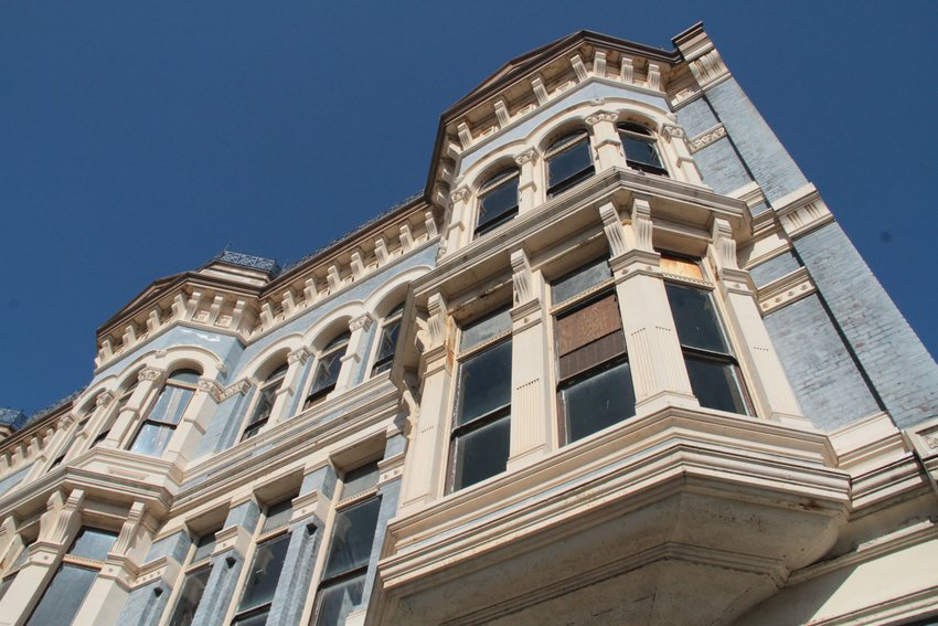 The historic Hastings Building is scheduled to go up for auction in a foreclosure sale April 2.