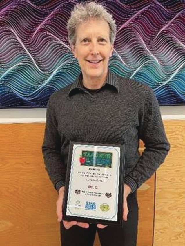 Don Halquist, a second-grade teacher at Salish Coast Elementary, has been honored as a Teacher of the Week.