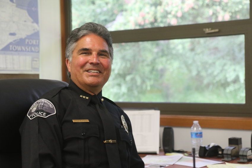 After 24 years with the department, Police Chief Troy Surber retired Monday, May 17