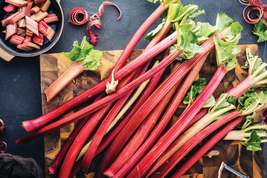 The supply of rhubarb can often outpace a chef's supply of recipes.