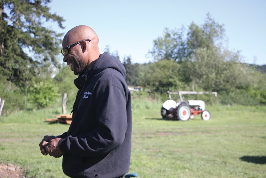 Peter Mustin, one of the county's only Black farmers and the area's largest Black landowner, is creating a center for community with Woodbridge Farm.