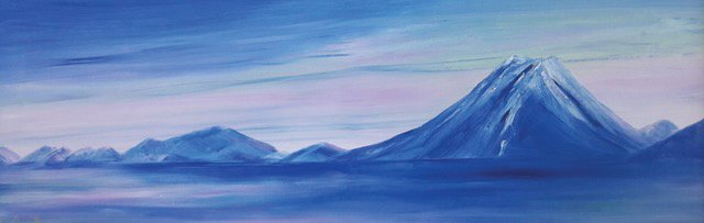 Landscape paintings by Ann Arscott can be viewed at Gallery-9 in July.