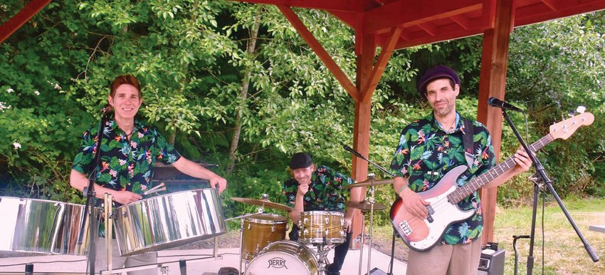 Caribe Steel Band will perform at the next Concerts in the Woods in Coyle.