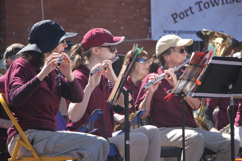 For the first time in over 20 months, the Port Townsend Summer Band perform a live and in-person concert at Pope Marine Park plaza.