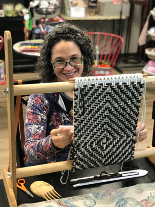 """Susan Pavel will present """"Coast Salish Wool Weaving""""at the Jefferson County Historical Society's next First Friday Speaker Series event."""