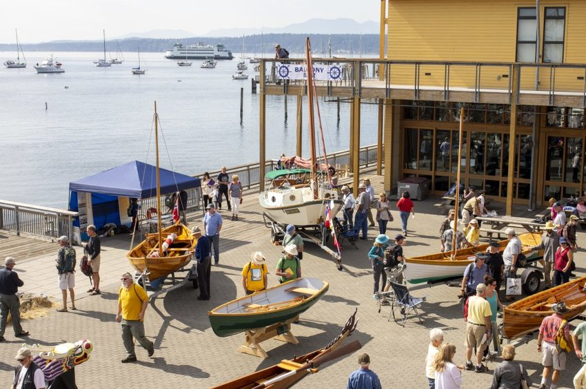 The Wooden Boat Festival, shown here in 2019, has been cancelled for the second year in a row, leaving organizers, local businesses, and attendees unhappy.